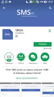 Aplikasi Sms Gratis di Android