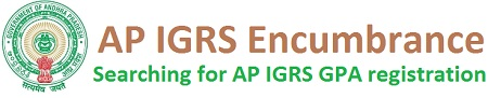 AP IGRS Encumbrance Search