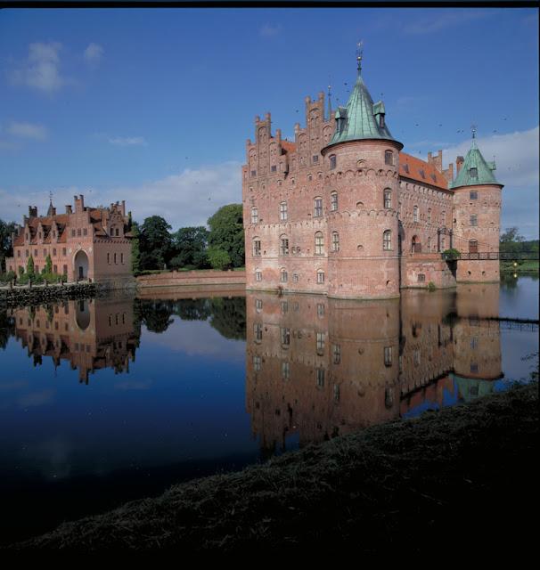 Castelo de Egeskov, ilha de Fyn, Dinamarca