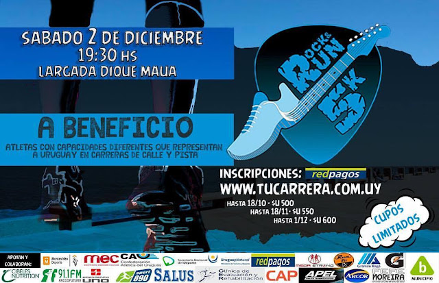 5k Rock & Run (Dique Mauá, Rambla de Montevideo, 02/dic/2017)