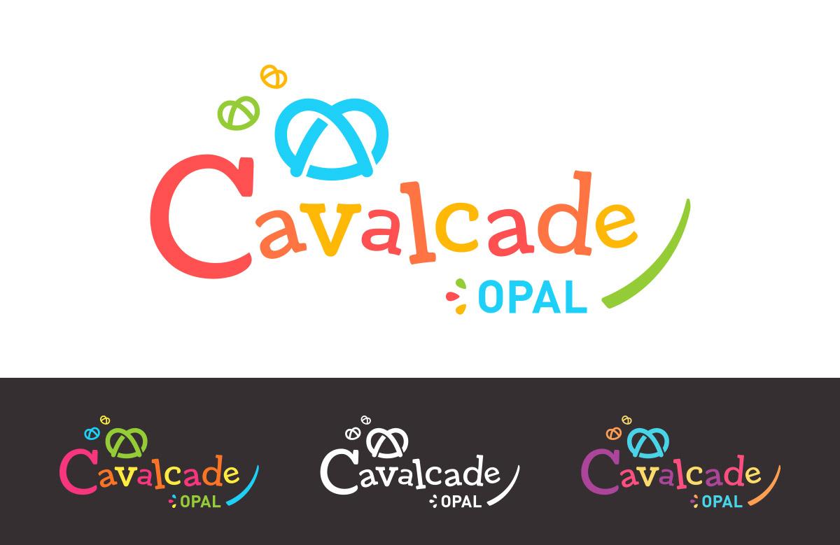 Création logo Cavalcade, défilé de Carnaval des centres de loisirs