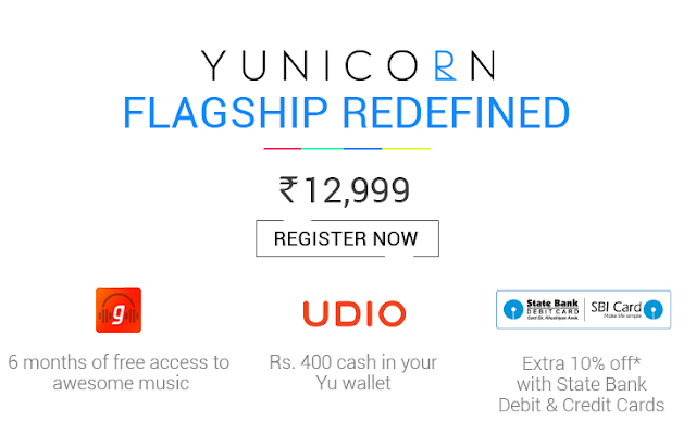 YU Yunicorn Launch Day Offers on Flipkart