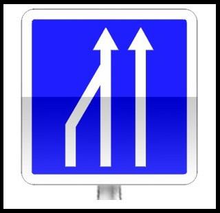 Réduction du nombre de voies