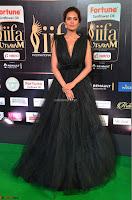 Esha Gupta in a Deep Neck Sleeveless Dark Green Gown at IIFA Utsavam Awards 2017     39.JPG