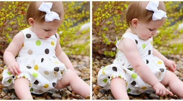 model baju bayi perempuan lucu