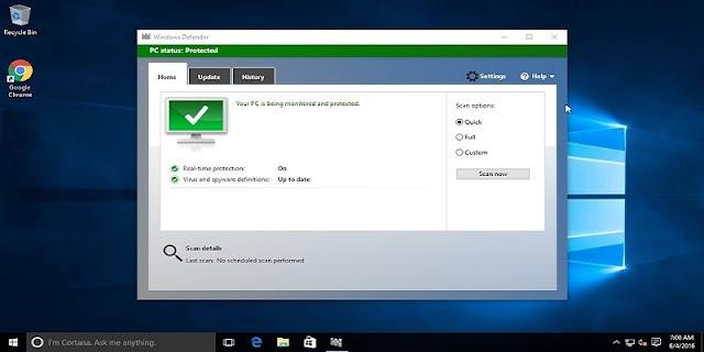 Anda mungkin perlu bertanya kepada penjualnya apakah komputer ini sudah di instal antivir Cara Agar Windows 10 Tetap Aman Tanpa Antivirus