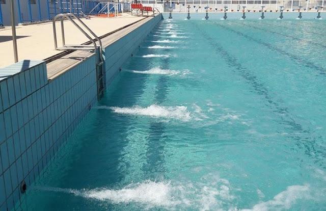 Η πισίνα γεμίζει και το κολυμβητήριο Ναυπλίου ανοίγει και ξανά