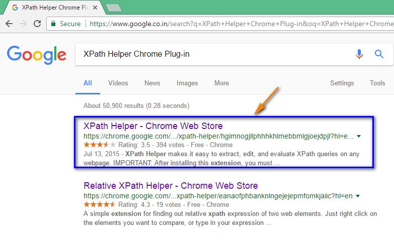 SeleniumByArun QAFoxcom XPath Helper plugin  Using