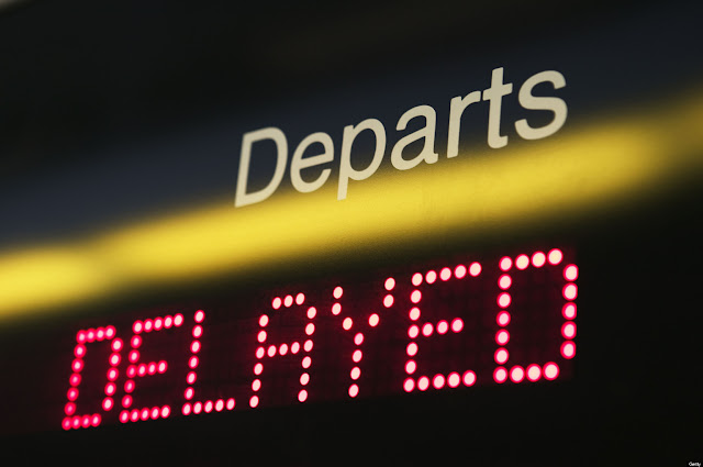 Delayed departs