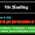 How to get permissions( Read, Write, Execute) of given file in Java?