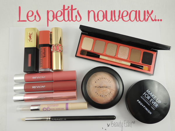 haul beaute mac bobbi brown
