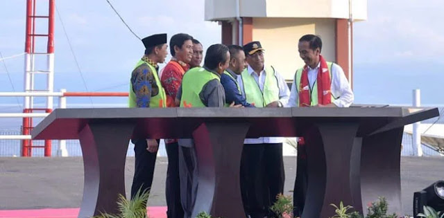 Jokowi: Sekarang, Morowali ke Kendari Tidak sampai Satu Jam