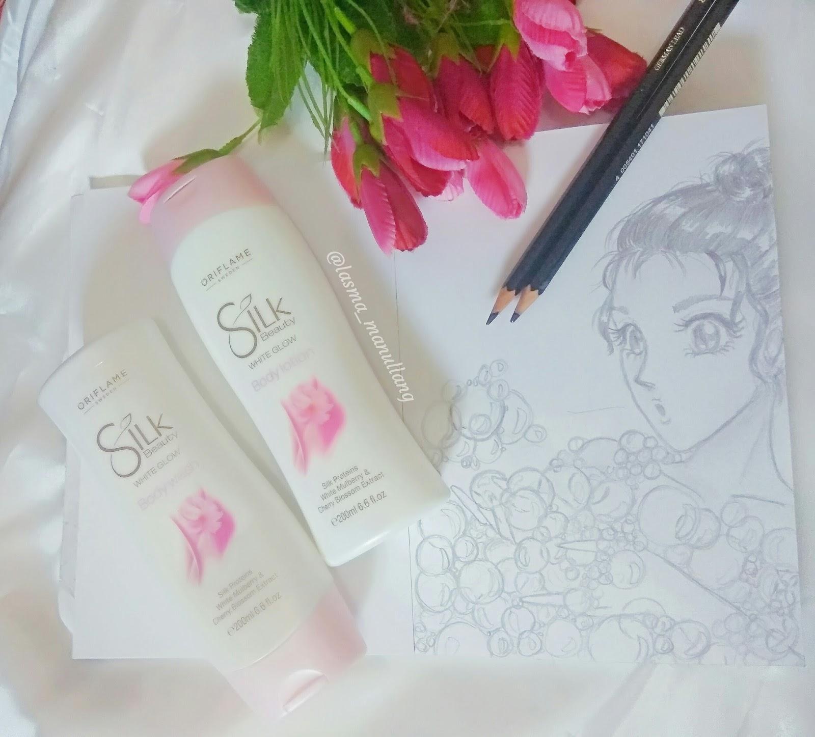 Senka White Beauty Lotion Ii Review: [REVIEW] Silk Beauty White Glow Body Shower & Body Lotion