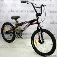 2 Sepeda BMX Wimcycle Titus MY2013 20 Inci