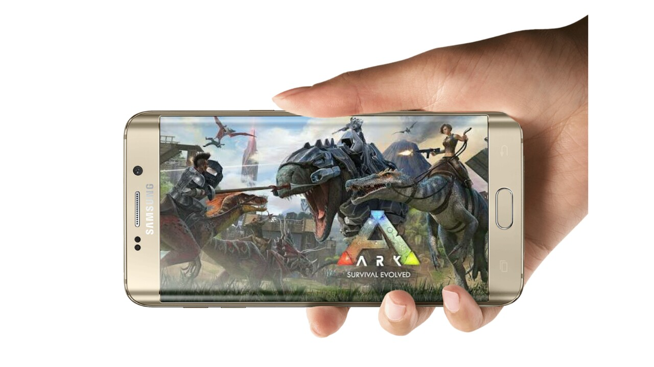 ARK: SURVIVAL EVOLVED Download in parts on android Highly