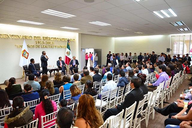 Inauguran Modulo Del Sat En Chalco El Escarlata