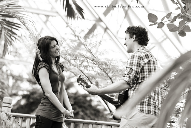 Matt + Shannon - Proposal at Franklin Park! 12