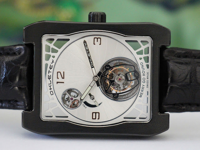Okletey Merry Go Round Mechanical Hand-wound Watch