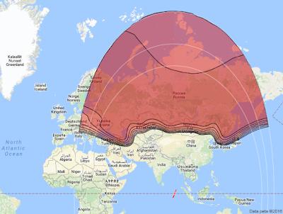 Satelit Yamal 401 90.0°E KUBand
