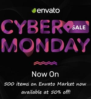 Envato Market 50% off!