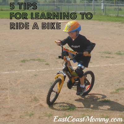 how to teach a child to ride a bike uk
