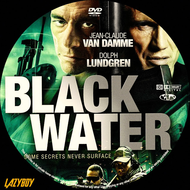 Black Water DVD Label