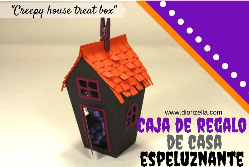 Diorizella events and crafts caja de regalo de casa for Casa regalo