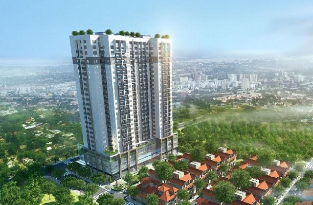 Phối cảnh Chung cư Thanh Xuân Complex 24T3 Hapulico