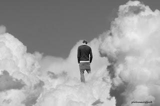 photo,man,clouds