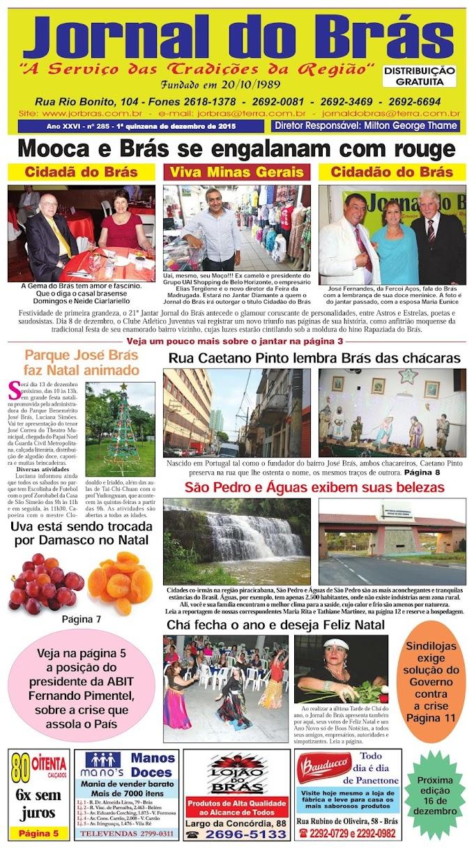 Destaques da Ed. 285 - Jornal do Brás