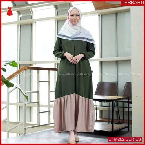 UTM262O69 Baju Olivia Muslim Dress UTM262O69 106   Terbaru BMGShop