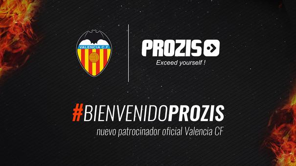 El Valencia firma con Prozis