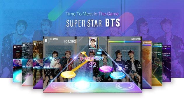 Descarga el juego oficial de BTS para Android (celulares y Tablets)