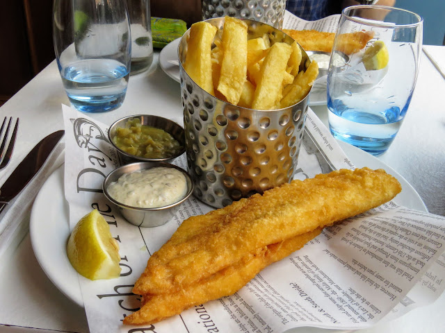 Where to eat in Belfast: fish and chips at Fish City Belfast