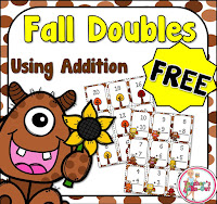 Free Fall Addition Doubles