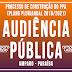 Prefeitura Municipal de Amparo realizará Audiência Pública para definir o PPA 2018/2021