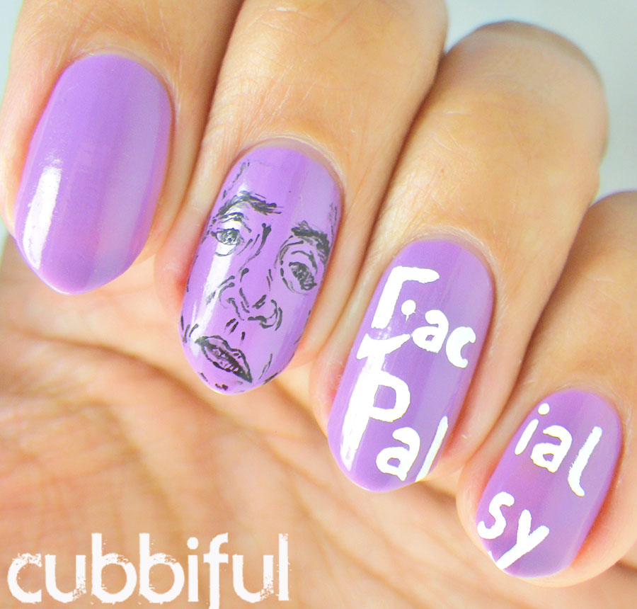 Facial Palsy Nails to Raise Awareness