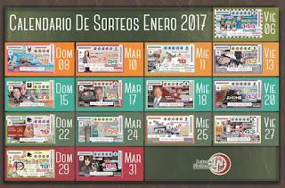 loteria-mexico-calendario-sorteo-enero-2017