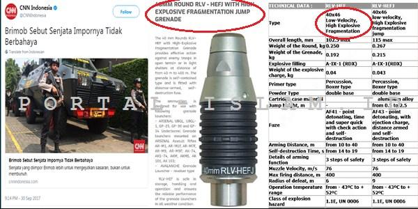 TERUNGKAP! Polisi Sebut Senjata yang Diimpor Tak Berbahaya, INI FAKTANYA