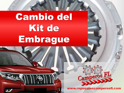Cambio kit de Embrague Camperos FL