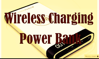 Wireless Charging - Power Bank for iPhone and Samsung Mobile