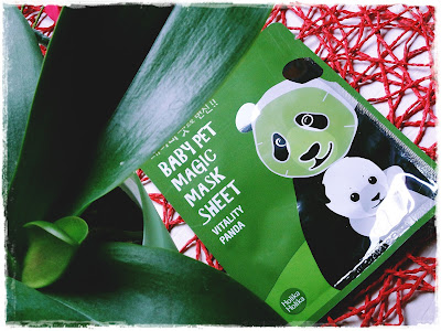Jęstę Pandzioszkę czyli Baby Pet Magic Mask Sheet Holika Holika od MyAsia