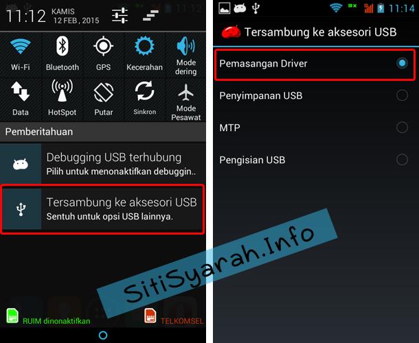 Android tidak terdeteksi di PC