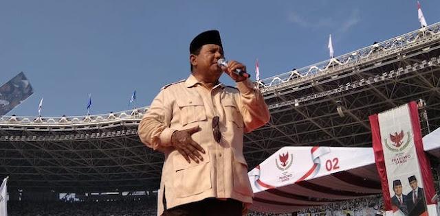 Peserta Kampanye Benarkan Laporan Penghadangan yang Diterima Prabowo