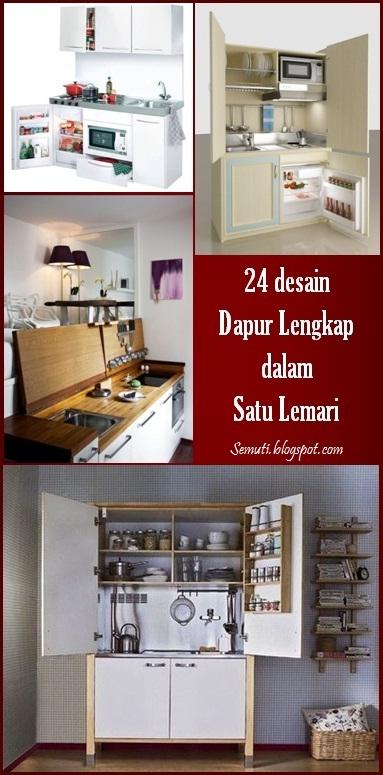 24 Desain Dapur Lengkap Dalam Satu Lemari
