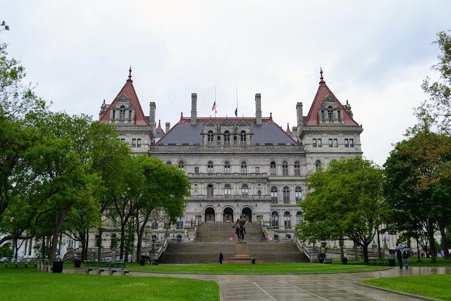 Капітолій штату Нью-Йорк, Олбані, Нью-Йорк, США (New York State Capitol, Albany, NY, USA)
