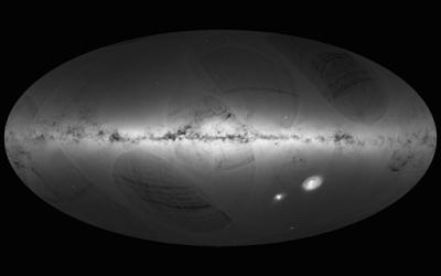 ESA publica o maior mapa celeste da Via Láctea