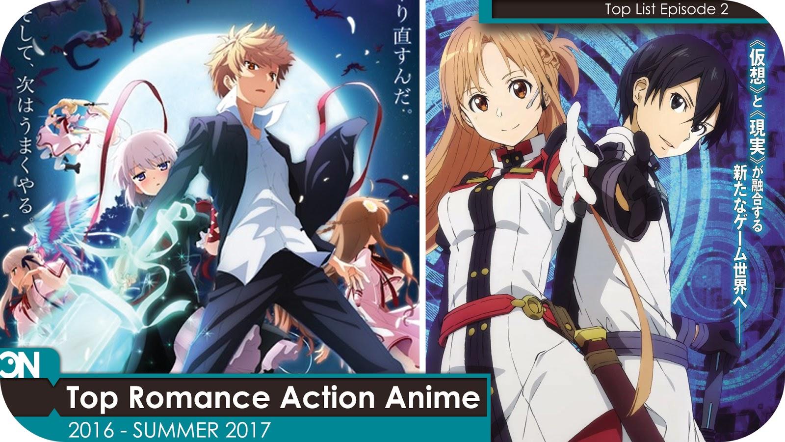 5 Anime Action Romance Terbaik 2016 Sampai Summer 2017