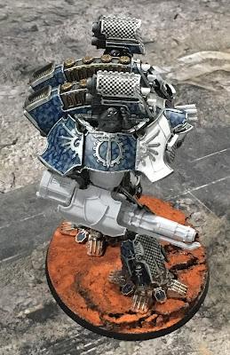 Legio Tempestus Warlord Battle Titan for Adeptus Titanicus - Quake Cannon
