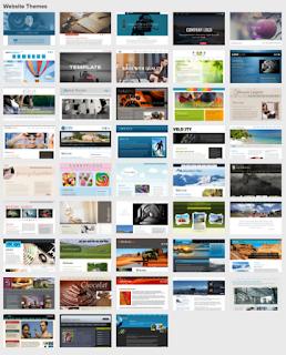 Xara Web Designer шаблоны сайтов